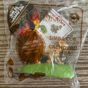 Simba Cub Happy Meal Toy